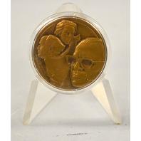 1977 Isreal Commermorative Coin on Menachem Begin w/holder - New