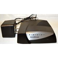SpeedStream 5360 Ethernet ADSL Modem by Efficient Networks w/adapter-used.