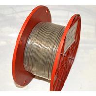 "Mibro KingChain 1/16"" x 3/32"" Aircraft Cable 500'/152.rm #505042"