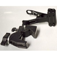Manfrotto 035 Super Clamp with out stud - with attachment for flat surface. Black.