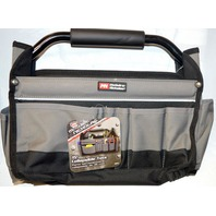 """McGuire-Nicholas 15"""" Collapsible Tote, Padded handle - Outer pockets for additional storage."""