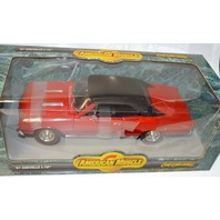Ertl Amer. Muscle '67 Chevelle L-78, 1:18 Scale, American Muscle Car-Original Box