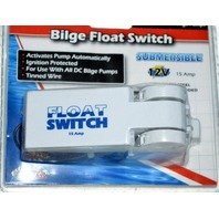 Boater Sports 57438 Bilge Float Switch-Submersible-15 Amp, works with all bilge pumps.