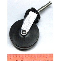 "2 1/2"" x 5/8""   4 piece set - Wheel Caster #02 Stem, Poly Wheel, Shepherd #99069 -  #1712"