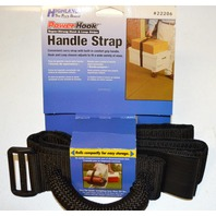 """Highland Brand Power Hook Handle strap- 2"""" wide - Hook & Loop can carry upto 50 lbs."""