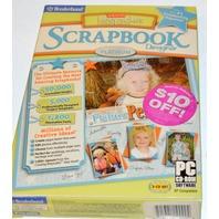 Broderbund Scrapbook Designer - Older version unopened - 3 CD set.