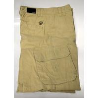 "Avalon Men's Walkshorts - Cargo type - Khaki Color - Size 30 - Inseam 12"""