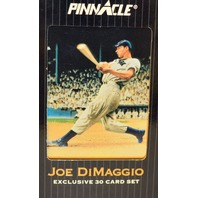 Joe DiMaggio Exclusive 30 Card Set from 1993 Pinnacle Score