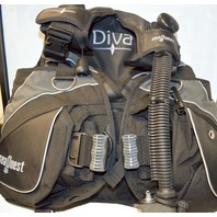 SeaQuest Diva LX BCD Women's Scuba Diving Buoyancy Compensator Device - M