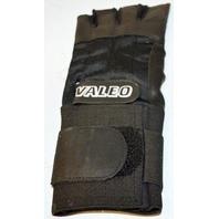 Valeo Anti-Vibration Gloves - Right and Left - XL - Black 1/2 Finger Leather