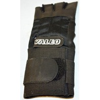 Valeo Anti-Vibration Gloves - Right and Left - XL - Black 1/2 Finger Leather