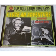 """Old time radio shows-in MP3 format-""""I Love an Adventure"""" 14 Episodes"""