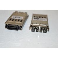 2 - Cisco 30-0759-01 1000 Base-SX Fiber Transceiver USED