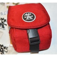 Crumpler Pouch-Perfect, BC-003, anything you need to keep safe-very strong-Red