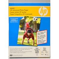 "HP Q8690A Photo Paper, Glossy, Inkjet - 60 Sheet, 5 x 7"""