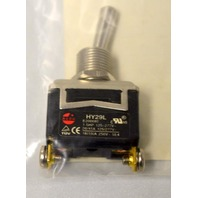 1 - 2VLT1 Toggle Switch, SPST, 2 Conn, Momentary Off made for Grainger by KEDU