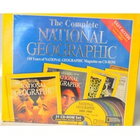 National Geographics - 110 Years of Magazines 1888 - 1999, 31 CD-Rom set.