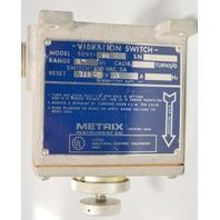 Metrix Vibration Switch - Model 5097-80 - Switch:250VAC 5A .75 turns