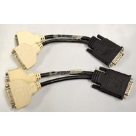 Molex Cable #CN-0H9361-52204-77C-0931. 59 Pin to Dual DVI Splitter. - 2 pieces