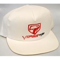 Collectors Viper Hat - White and in perfect shape