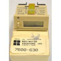 Redington Counter #7600-630 - Low impedance switch-no voltage - 30  CPS