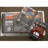 SteelSeries Bundle - Includes StarCraft II ZBOARD, 1GC Controller & Extra Keyset