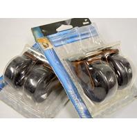 "Shepherd #9346. Set of 4-2"" Ball Bearing Casters-Bronze-1 3/16x2"" plate, 80lb cap per"