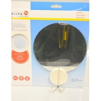 GRiiPA #3848 - Shower Mirror with Friction Mount and Razor Hook.