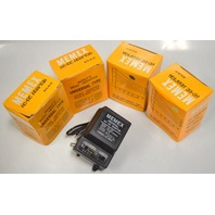 MEMEX Universal AC-DC  Adaptor, MU500 - 6 way plug.  Lot of 4.