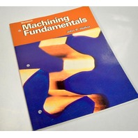 Machining Fundamentals Book by John R. Walker - Paperback workbook