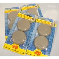 "Shepherd #3945 2 1/2"" SlideGlide+, self adhesive, 4 per pk, 4 packs."