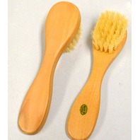 "Wooden Applicator Brush - 6"" long with Brush is 1"" x 1 1/4"" - 2 Brushes."