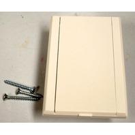 Nutone Standard Vacuum Inlet #330W- White.