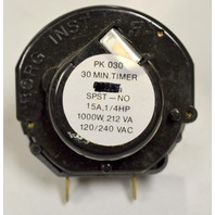Borg Mechanical 30 Minute Timer #PK030 - New old stock.