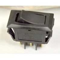 Defond 2 Pole Rocker Switch 16A - 125VAC, 8A - 250VAC   -1 Switch - 22mm x 11mm  x 27mm High