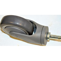 "Institutional Casters-4""x 7/16""x1 1/4"", #91Ste, Thermal Plastic Rubber, Non Mar 4 pcs."