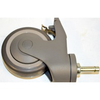 """Institutional Casters-4""""x 7/16""""x1 1/4"""", #91Ste, Thermal Plastic Rubber, Non Mar 4 pcs."""