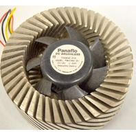 "Panaflo ""Orb"" DC Brushless Fan - 12VDC 0.22A -  #7G28AZ - Circulates down."