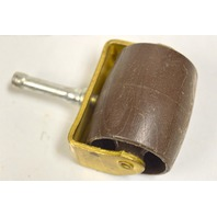 """2 1/4"""" Bed Caster - 4 pcs - Brown with tapered stem #006720"""