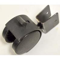 "2"" Dual Wheel Caster w/ ""U"" Bracket, Wheel Lock - 4 pc set #81739"
