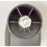 "3"" Dual Whl Stem Furniture3/8-16 x 3/4"" Threaded Stem w/brake-4 pc -#110417"