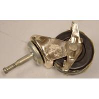 Single Wheel Stem Caster w/Brake #02 Tapered Stem - 4 pc set -#99466
