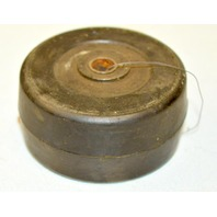 "3"" x 1.5"" x 3/8"" Heavy Dut Rubber Wheel - #6324 - 1 pc."