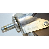 "4""x1"" Single Wheel Caster TPR wheel 7/16""x1 5/16""stem - #30323 - 4 pc set"