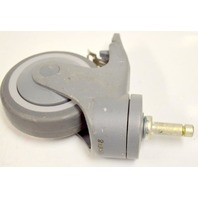 "4""x1"" Institutional TPR,Swivel, Non Marr, Stem Caster-w/All Lock #81363 - 1 pc."