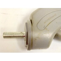 "4""x1 1/4"" Institutional, Non marr, Swivel Threaded Stem Caster #111523, 1 pc."