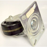 "4""x2"" Swivel Plate Mount Phonolic Caster #6840-01-PHN - 800# Rating - 1 PC."