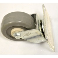 "3"" x 11/4"" Plt Mnt Swivel, Poly on Poly Caster, #3830-01-PPPG - 1 Pc."