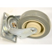 "4"" x 1"" Swivel Plt Mnt Poly-U on Poly-O Caster #5040-01-PPPG, 275# Rated -  1Pc."