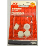 """Ace 5/16""""  Bumpers tips #50391-4 per pack - 4 packs"""